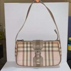 Vintage Burberry mini shoulder bag